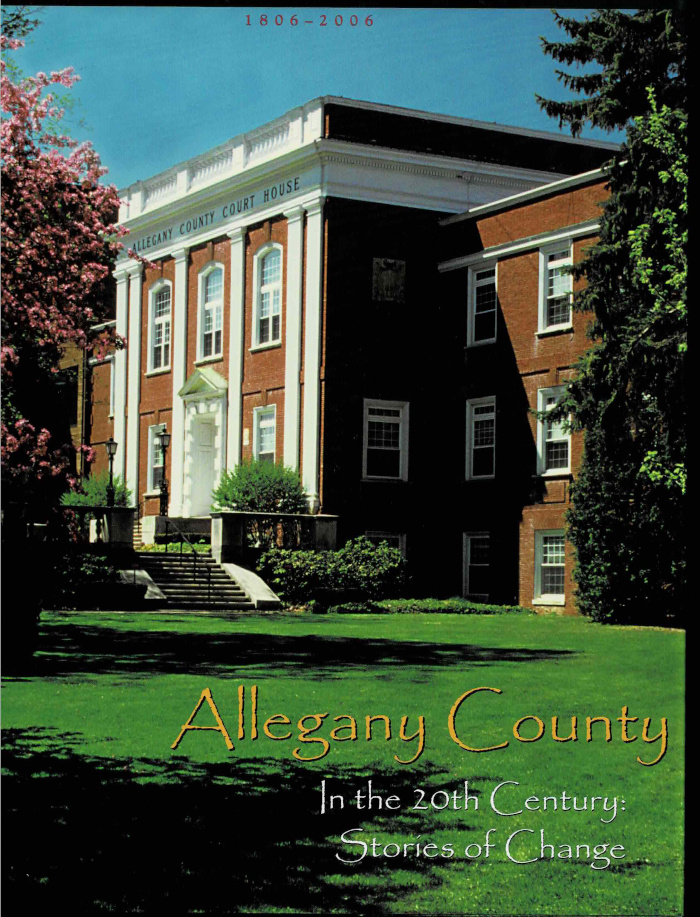 Allegany County in the 20th Century