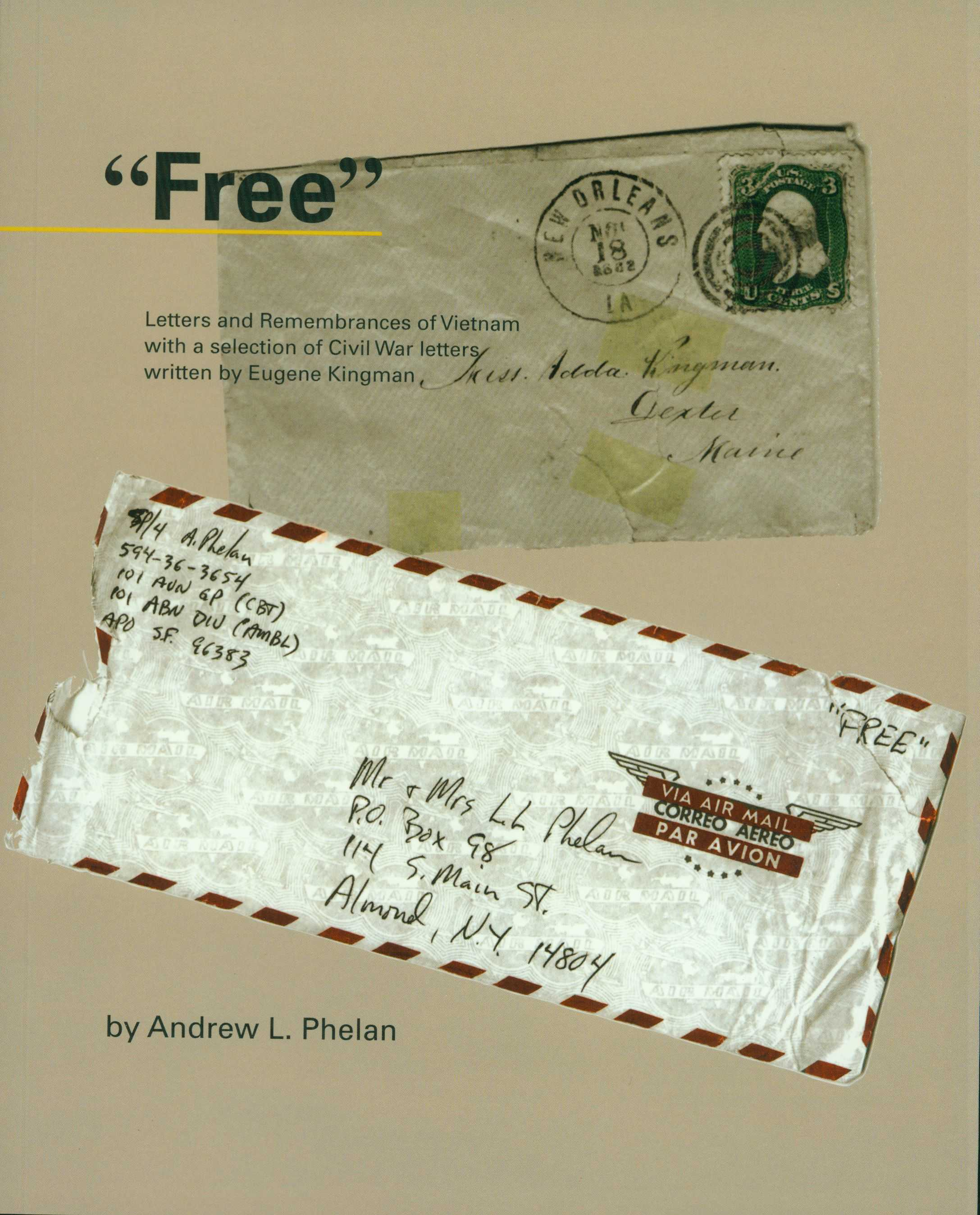"""Free"" - Author, Andrew L. Phelan - Cover"