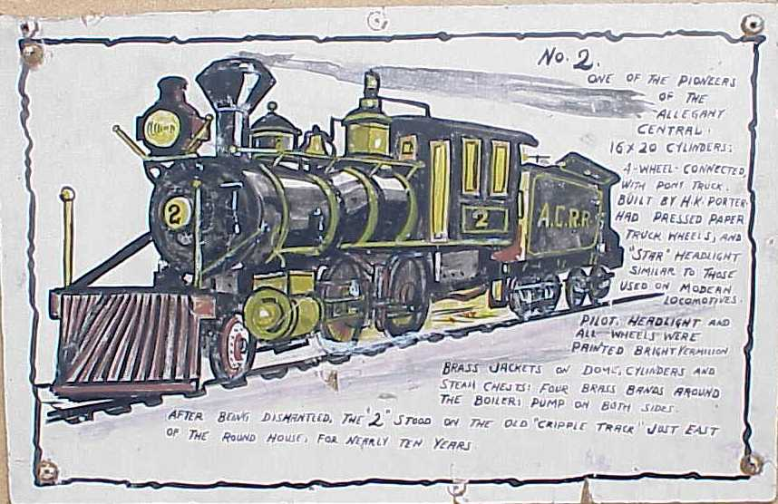 Porter Dinky engine2 Allegany Central