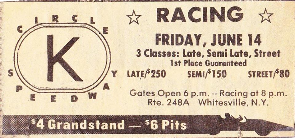 Circle K Speedway - Advertisement