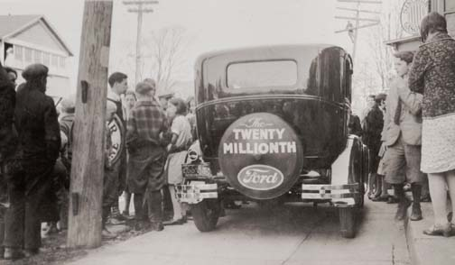 024 1931 Ford touring the USA