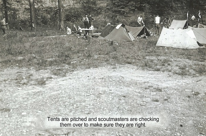 04 Pitching tents