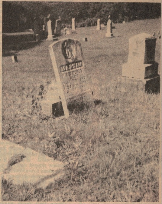 Ireland in Scio Cemetery Photo 1 of 2
